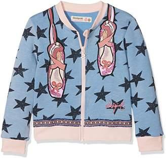 Desigual Girl's Sweat_chejov Sweatshirt,(Size: 3/4)