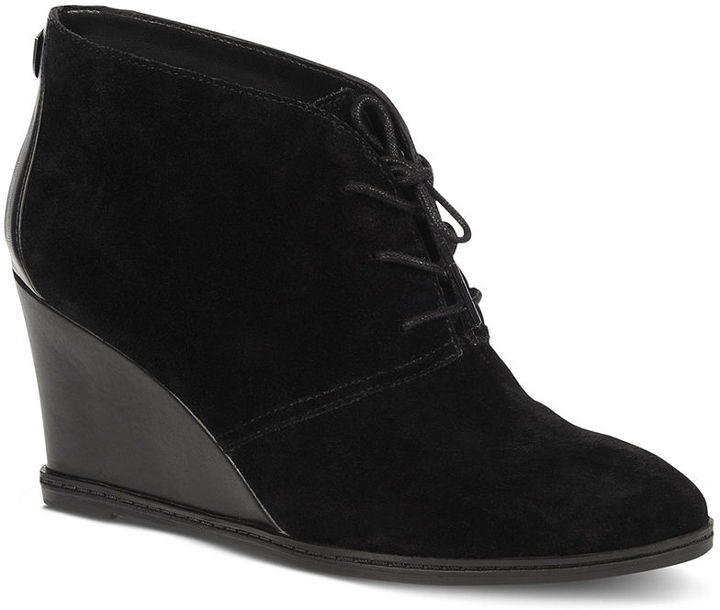 Etienne Aigner Shoes, Zita Wedge Booties Sold Out thestylecure.com