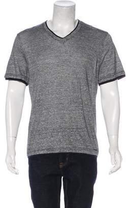 MICHAEL Michael Kors Woven Micro-patterned T-Shirt