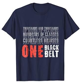 One Belt Martial Arts Gift T-Shirt