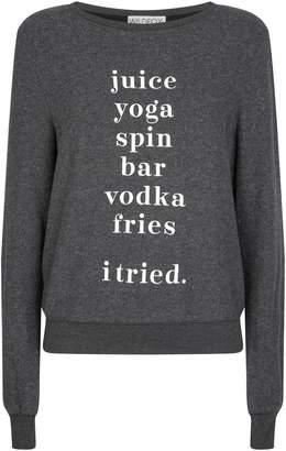 Wildfox Couture I Tried Sweatshirt