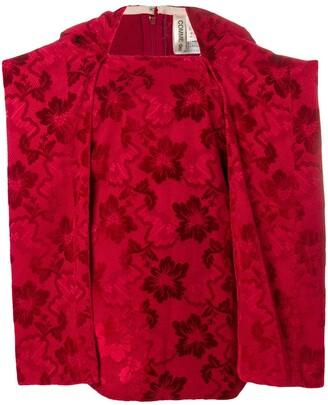 Comme des Garcons Pre-Owned 1996's jacquard blouse