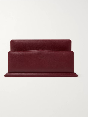 James Purdey & Sons - Textured-Leather Letter Rack - Men - Red