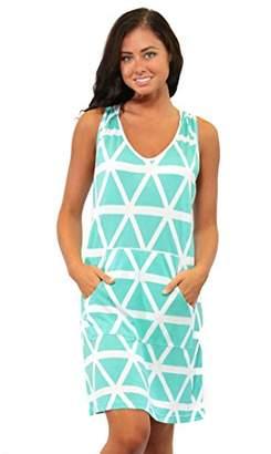 All For Color Women's Tara Sleeveless Hoodie Dress