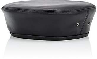 Eric Javits Men's Nappa Leather Beret - Black