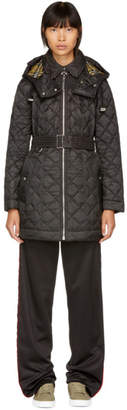 Burberry Black Baughton Quilted Coat