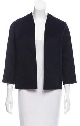 Peter Som Wool-Angora Open Front Jacket