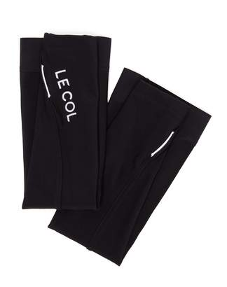 LE COL Logo-embroidered arm warmers