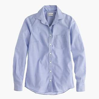 J.Crew Petite everyday shirt in end-on-end cotton