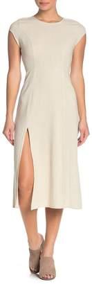 Dee Elly Side Slit Midi Dress