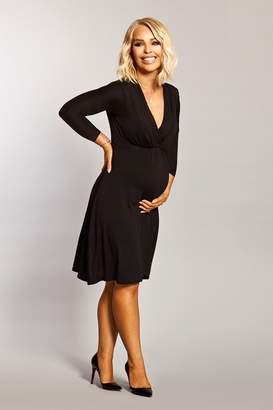 Next Womens Want That Trend Maternity Long Sleeve Nursing Dress