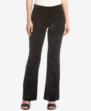Karen Kane Velour Bootcut Pants