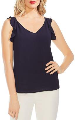 Vince Camuto Sleeveless Ruffled Top
