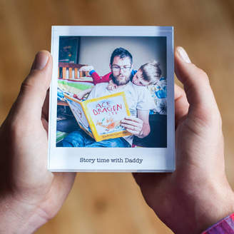 a.musing Personalised Father's Day Photo Acrylic Block