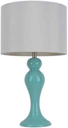 Decor Therapy Light Blue Ceramic Table Lamp