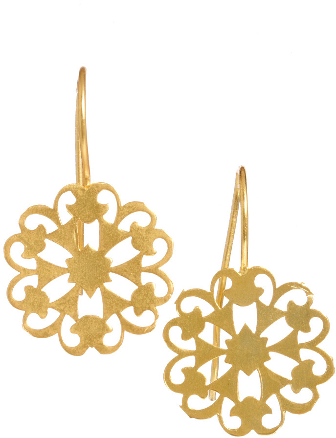 Kasturjewels Handcrafted Drop Earrings