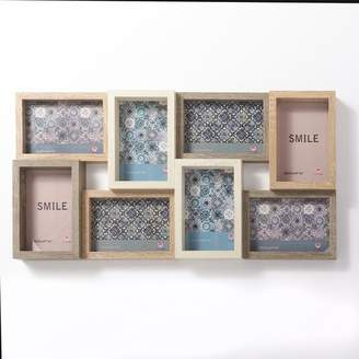 Bungalow Rose Gullickson Wood Puzzle Design Collage Picture Frame