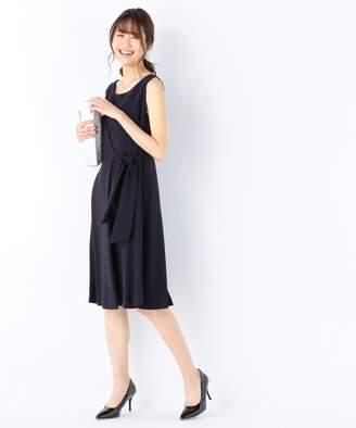 Kumikyoku (組曲) - 組曲 【結婚式やパーティに】バックサテンディティール ドレス(C)FDB