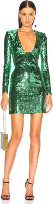 Dundas Long Sleeve Sequin Mini Dress