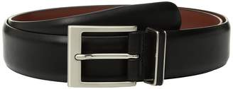 Perry Ellis Portfolio Smooth Nappa Leather Belt Men's Belts