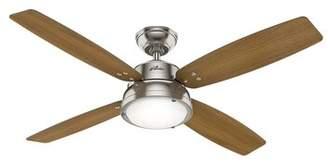 """Hunter Fan 52"""" Wingate 4 Blade LED Ceiling Fan with Remote, Light Kit Included Fan"""