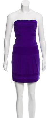 Diane von Furstenberg Strapless Silk Dress