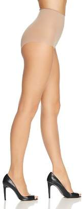 Donna Karan Whisper Weight Control Top Sheer Toeless Tights