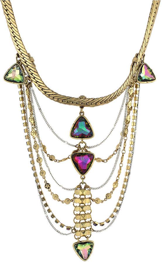 BCBGeneration Gold-Tone Collar Pendant Necklace