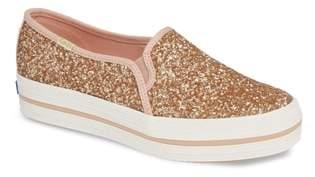 Kate Spade Keds(R) for triple decker glitter slip-on sneaker