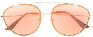RetroSuperFuture Aviator sunglasses