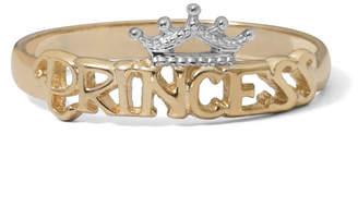 Disney 14K Yellow Gold Gold Princess Tiara Ring