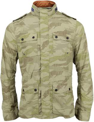 Lords of Harlech - Captain Jacket In Olive Scribble Camo