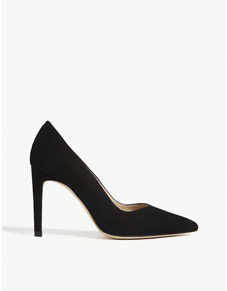 Sandro Pointed-toe suede courts