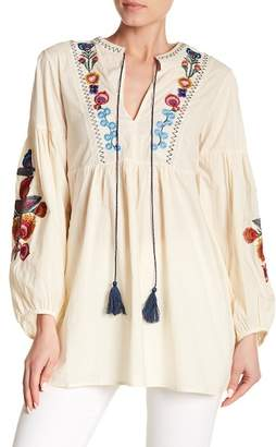 Haute Rogue Floral Embroidered Tunic
