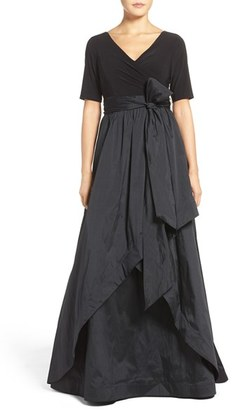 Women's Adrianna Papell High/low Taffeta Ballgown $229 thestylecure.com