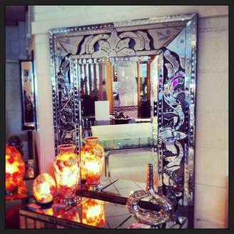 The Luxe Co Venetian Style Wall Mirror