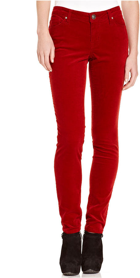 Jessica Simpson Pants, Forever Skinny Corduroy