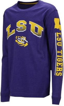 Colosseum Lsu Tigers Grandstand Long Sleeve T-Shirt, Big Boys (8-20)