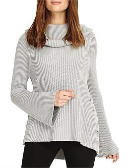 Phase Eight Cateline Cowl Swing Knit