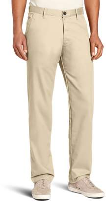 Haggar Men's Life Khaki Slim Fit Flat Front Chino Casual Pant