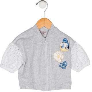 MonnaLisa Girls' Embroidered Jacket