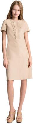 Max Studio soft leather dress