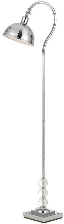 AF LightingAF Lighting Hollace 60 in. Chrome Floor Lamp