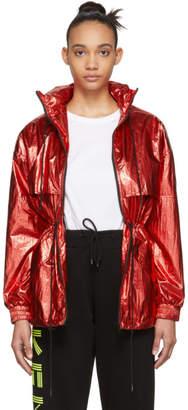 Kenzo Red Windstopper Jacket