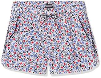 Tommy Hilfiger Girl's Flower Rayon Shorts,164 cm (14 Years)