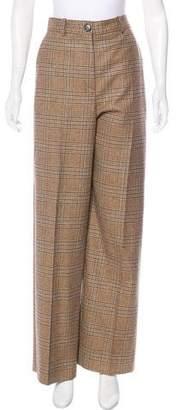 Maison Margiela 2014 Wool Wide-Leg Pants