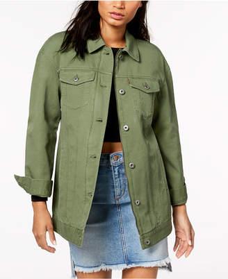 Levi's Cotton Oversized Trucker Jacket
