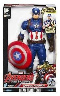 Marvel Avengers Age Of Ultron Titan Hero Tech Captain America