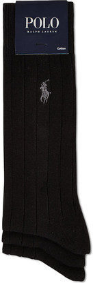 Polo Ralph Lauren 3 pack of ribbed dress socks $29 thestylecure.com