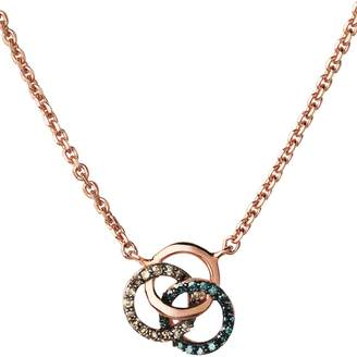 Links of London Rose Gold Vermeil and Diamond Treasured Necklace